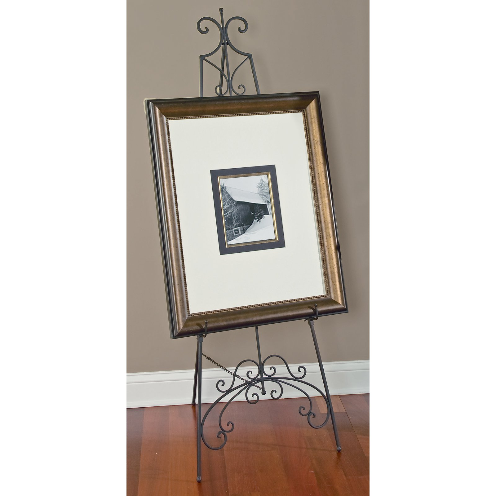 Tripar Black Metal Floor Easel