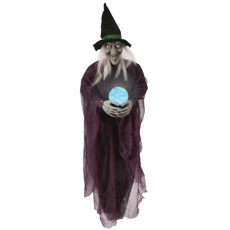 36 Witch with Crystal Ball - Witch Crystal Ball