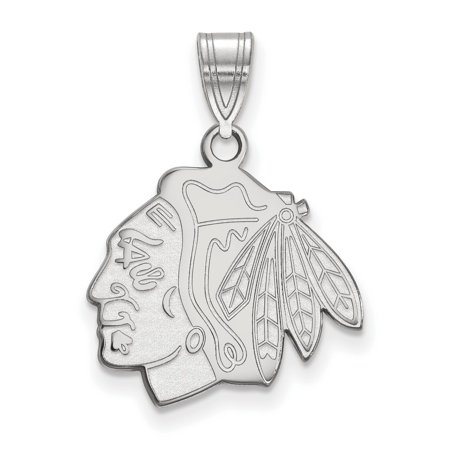 Chicago Blackhawks Medium Pendant In Sterling Silver 2 20 Gr