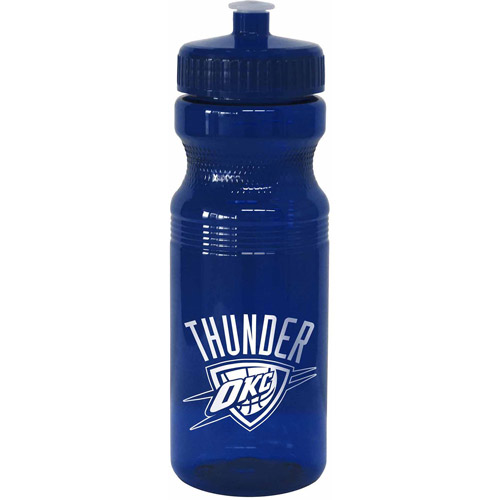24oz NBA Oklahoma City Thunder Squeeze Water Bottle