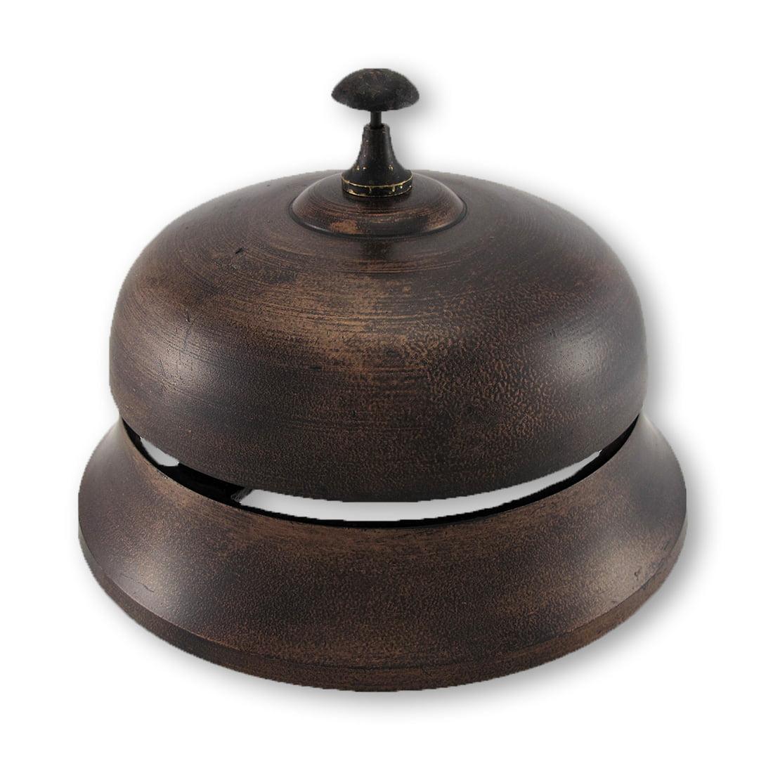 Big Bronze Finish Aluminum Desk Bell by UMA Enterprises Inc.