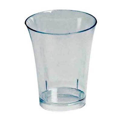 Small Wonders 2 oz Clear Plastic Shooter Glasses/Set of 200 ()