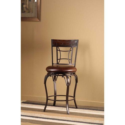 Hillsdale Furniture Granada 45 75 Quot Swivel Bar Stool Dark