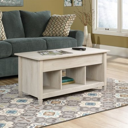 Kingfisher Lane Lift Top Coffee Table in Chalked Chestnut ()