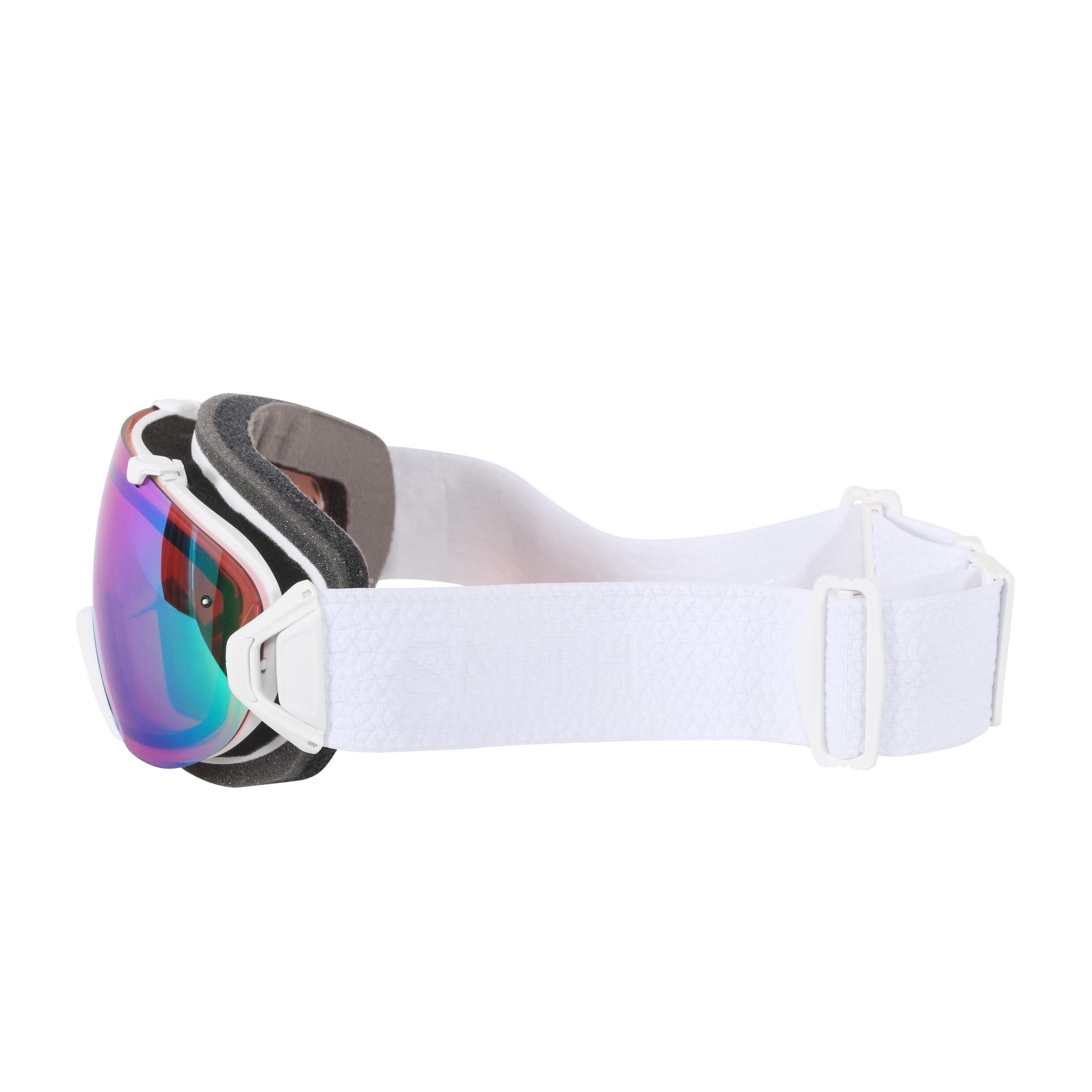 a5163784a9915 Smith Optics White Mosaic ChromaPop Everyday I OS Interchangeable Snow  Goggles - Walmart.com