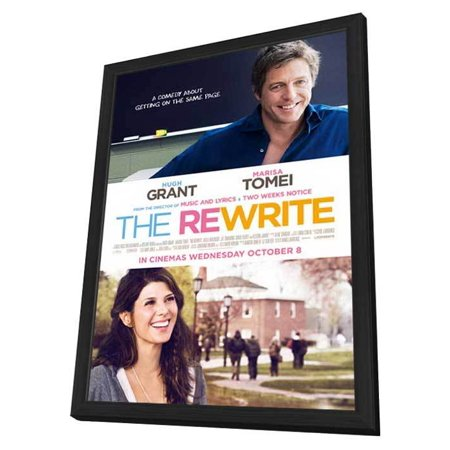 The Rewrite  2014  11X17 Framed Movie Poster  Uk