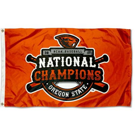 Oregon State University Beavers NCAA 2018 College World Series Champions - Workd Flags