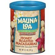 Mauna Loa All Natural Honey Roasted Macadamias, 4.5 Oz.