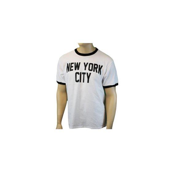 NYC FACTORY - X-Large John Lennon Tee New York City Ringer T-Shirt White -  Walmart.com ad987082110