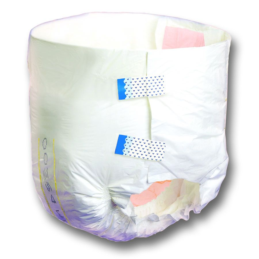Adult Incontinent Brief Tranquility Atn Tab Closure Disposable Heavy Absorbency Large 45'' to 58'', 2 Cases of 96