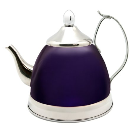 Creative Home Ili Tea 1 Qt Stainless Steel Kettle With Infuser