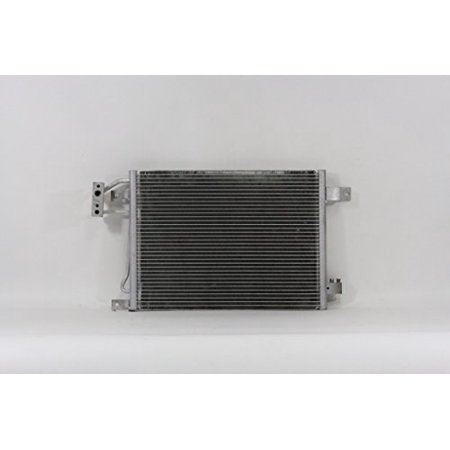 A-C Condenser - Pacific Best Inc For/Fit 3587 07-11 Jeep Wrangler Manual Transmission (Best Fog Lights For Jeep Wrangler)