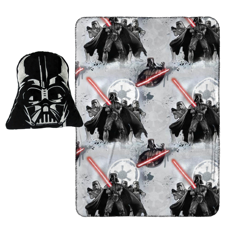 Star Wars Vader/Trooper Nogginz Pillow and Travel Blanket Set