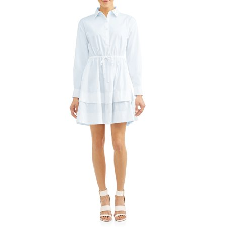 Gemma Belted Shirt Dress Women'sGemma Belted Shirt Dress Women's (Pale - Milly Belted Collar Dress
