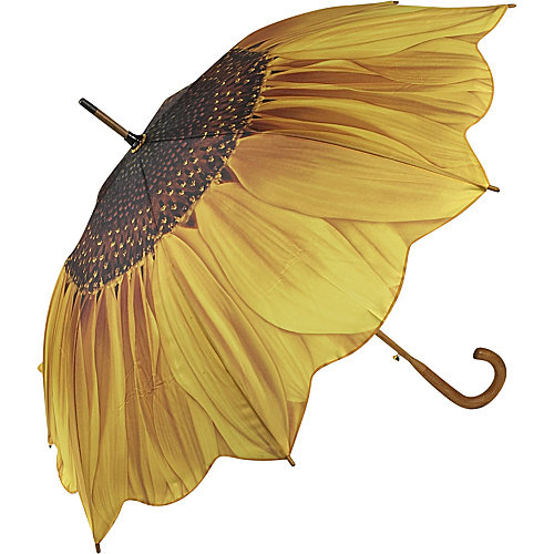 Galleria Sunflower Bloom Stick Umbrella