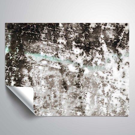 Brushstone Reflection IV Vinyl Wall Decal