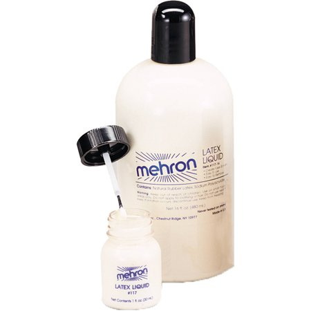 Mehron Latex Liquid 4.5-Ounce Adult Halloween Accessory
