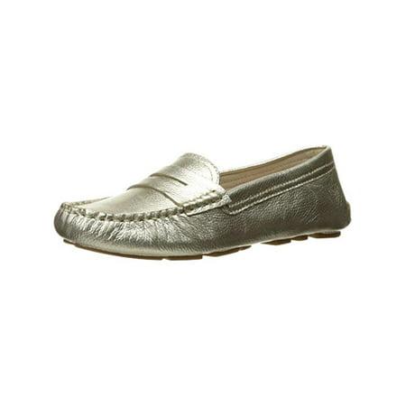 0b1f71edaa1 Sam Edelman Womens Filly Leather Penny Loafers Gold 10 Medium (B