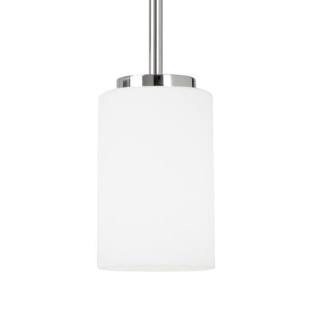 Sea Gull Lighting Glass Diffuser (Sea Gull Lighting 61160 Oslo Single Light 4