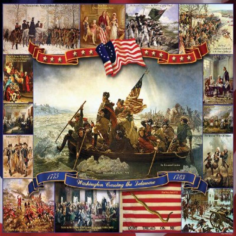 White Mountain Puzzles Washington Crossing The Delaware -...
