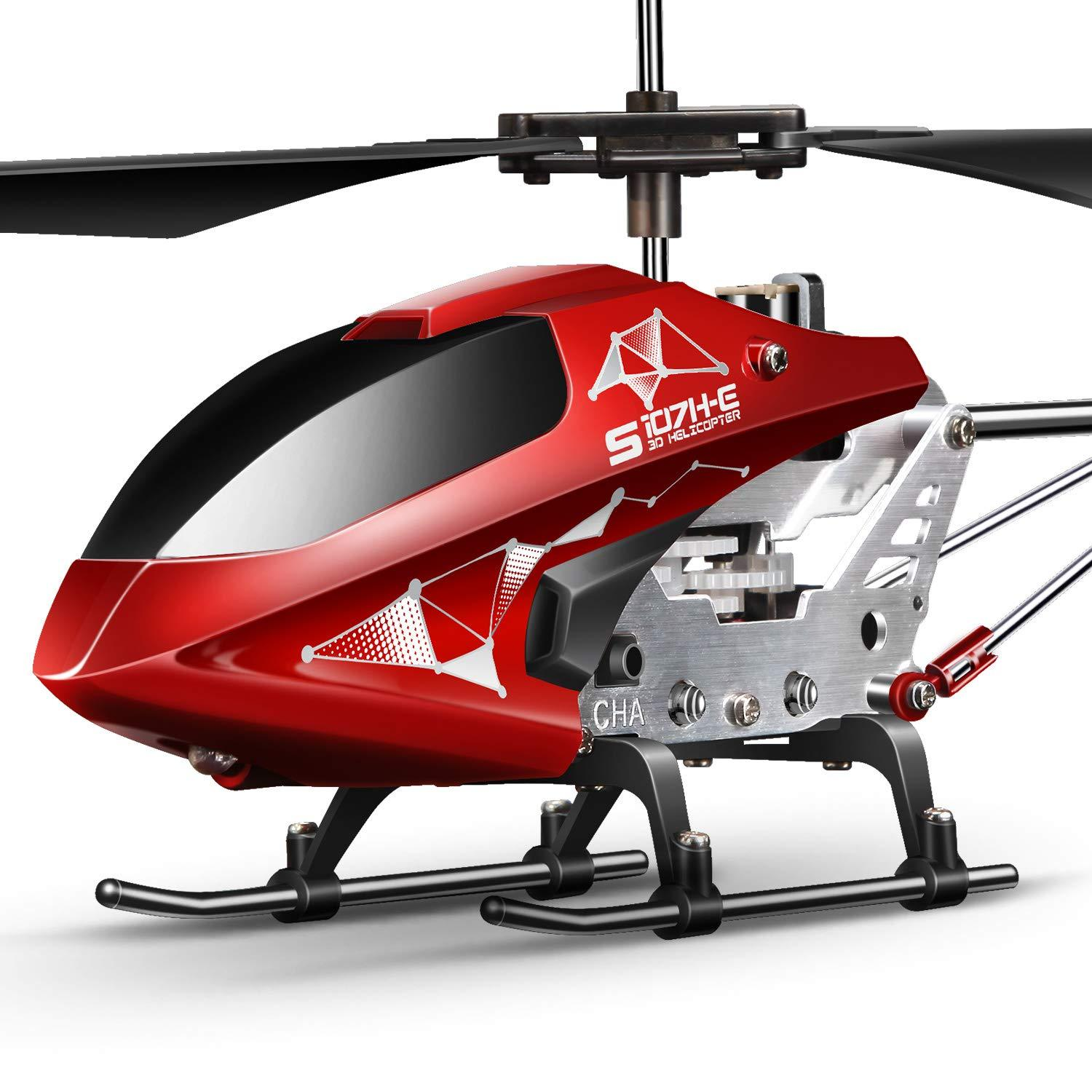 S107H Aircraft with Altitude Hold Remote Control Helicopter One Key take 3.5