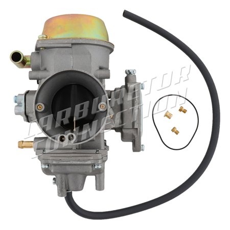 New Carburetor Connection -Yamaha 660 Rhino 04-07, Carburetor Complete  (Yamaha Rhino Exhaust Silencer)