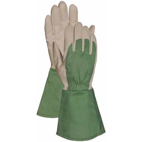 LFS Extra Large Green Thorn Resistant Mens Gauntlet Glove