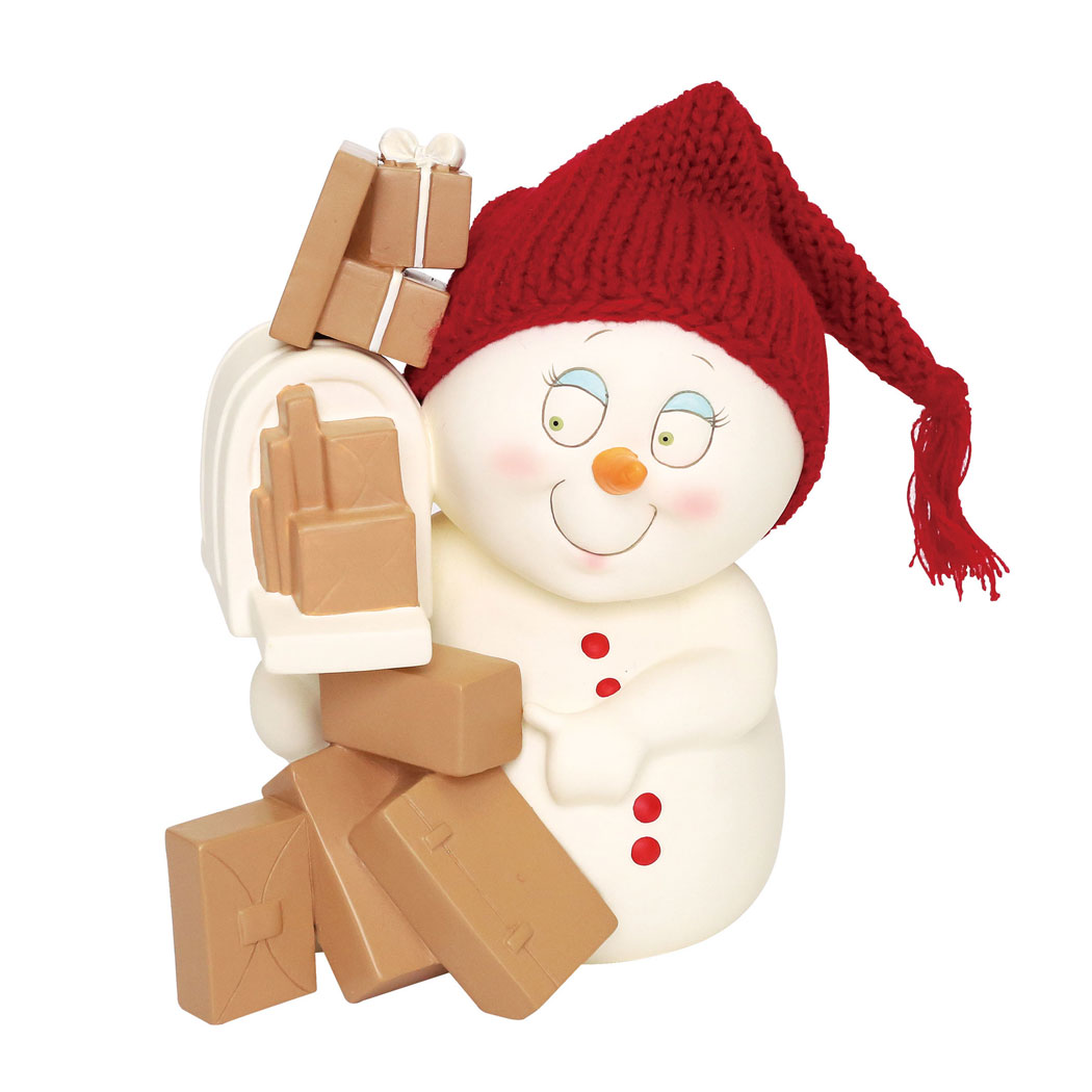 Department 56 Snowpinions 6001178 Cyber Shopping Figure 2018