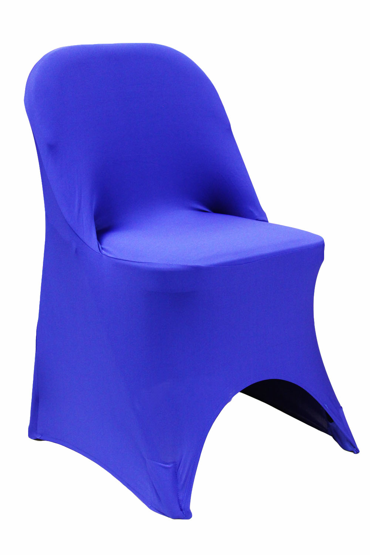 Folding Spandex Chair Cover Fits Metal Or Samsonite Folding Chairs Royal Blue Walmart Com Walmart Com