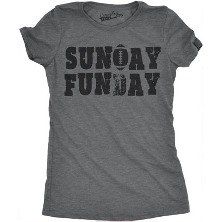 Vintage Sport Shirt (Womens Sunday Funday Vintage Football Sports Weekend Partying T)