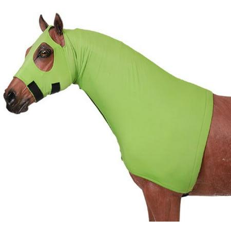 Mane Stay Hood (SMALL BLACK TOUGH1 HORSE GROOMING TACK FLEECE LINED LYCRA MANE STAY HOOD )