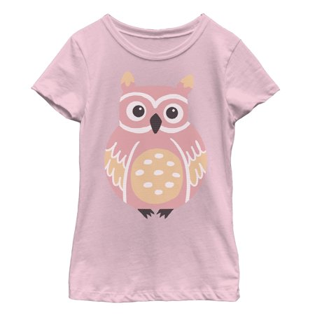 Girl Owl (Girls' Owl Hoot T-Shirt )