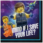LEGO MOVIE 2 BEVERAGE NAPKIN (16)