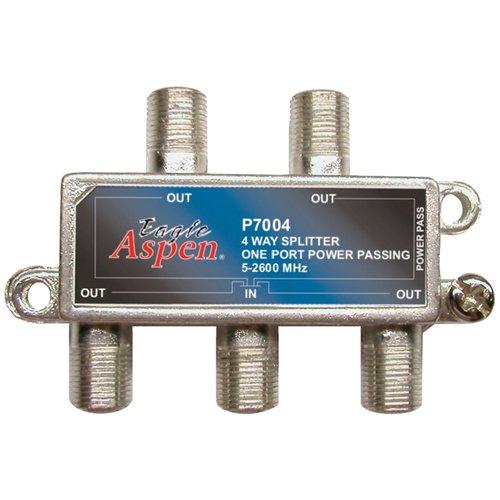 Eagle Aspen 500311 4-Way 2,600MHz Splitter