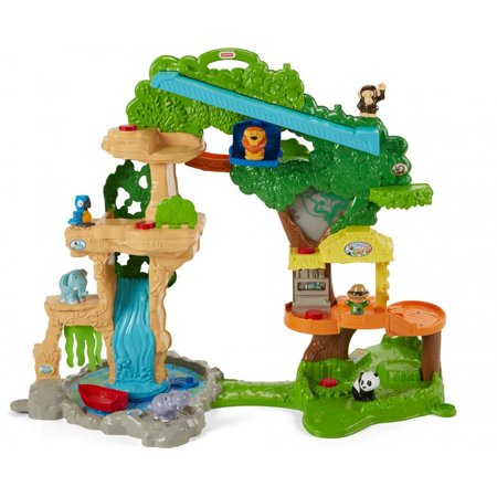Fisher-Price Little People Happy Animals Habitat Share and Care Safari