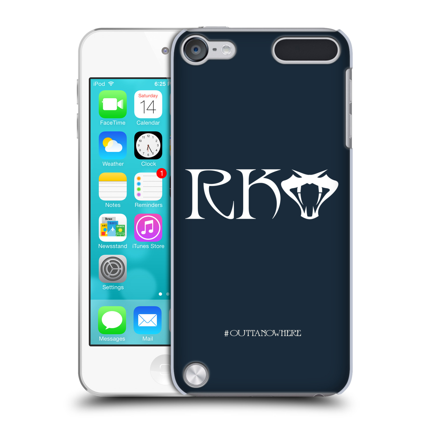 OFFICIAL WWE RANDY ORTON HARD BACK CASE FOR APPLE IPOD TOUCH MP3