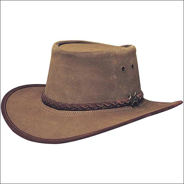 MEDIUM CONNER HANDMADE BC HATS STOCKMEN SUEDE AUSTRALIAN ...
