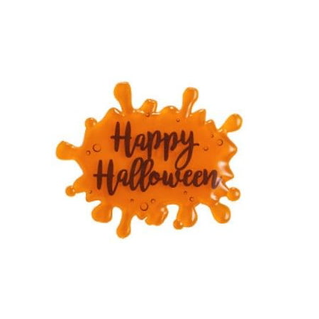 Orange HAPPY HALLOWEEN Slime Saying Drip Script Cake Toppers - 1 Piece - 22841O - National Cake Supply](Halloween 9 Script)