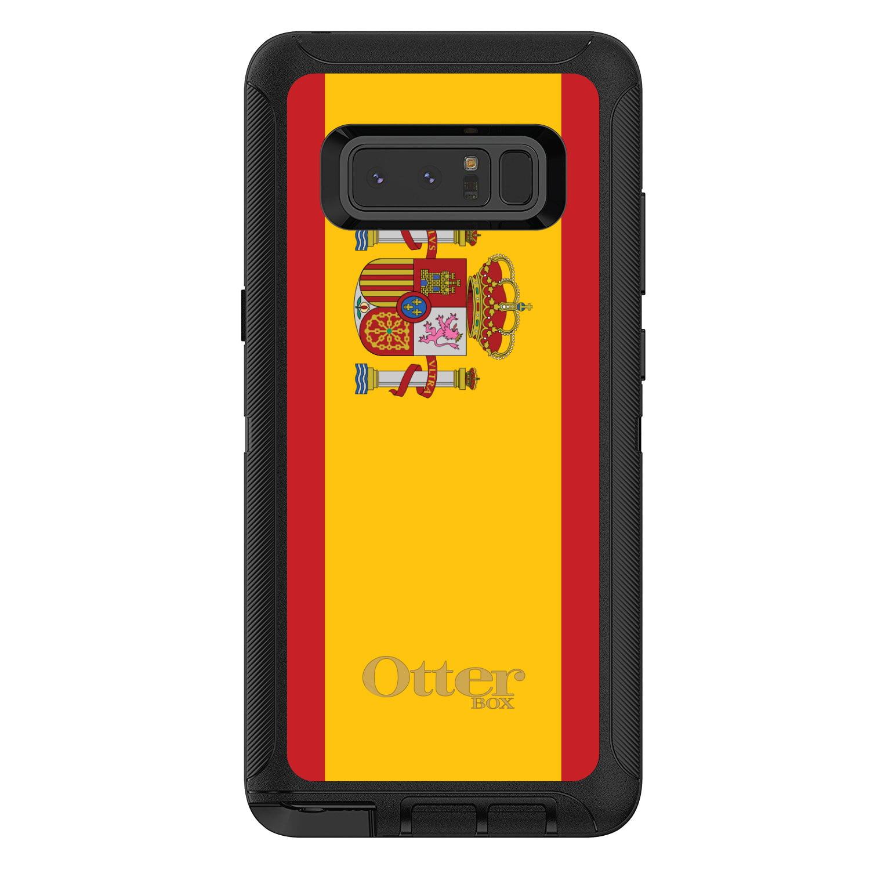 DistinctInk Custom Black OtterBox Defender Series Case for Samsung Galaxy Note 8...
