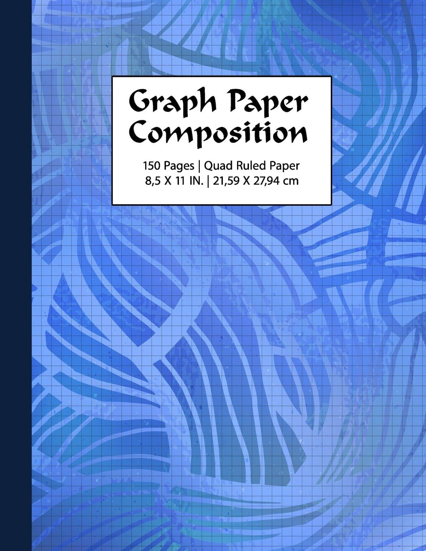 art graph paper notebook  graph paper composition notebook