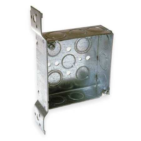 Electrical Box,Square,4 X 1-1/2 in.
