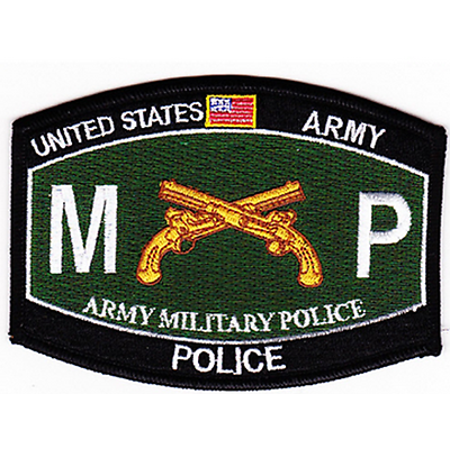 US ARMY MILITARY POLICE MP MOS 31B PATCH CROSSED PISTOL SECURITY DEFENSE GATE