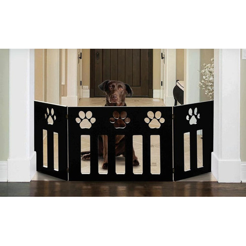 Imperial Home Wooden Pet Gate