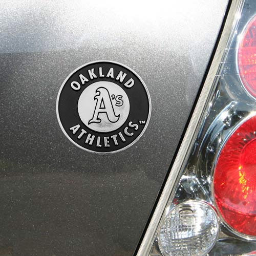 Oakland Athletics Auto Emblem - No Size