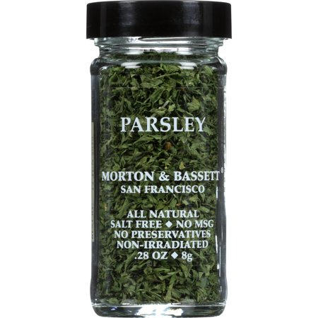 Morton & Bassett Spices Parsley, .28 Oz (Pack Of
