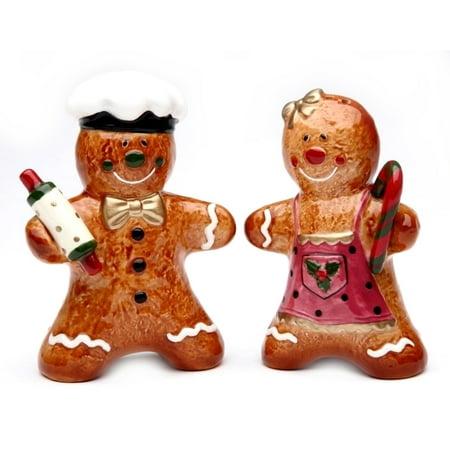 Gingerbread  Salt & Pepper Shaker