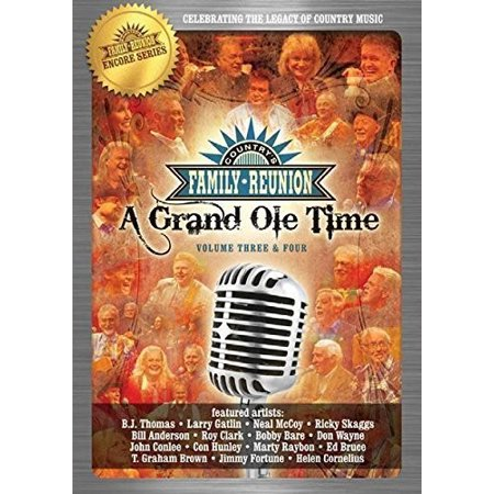 Country Family Reunion: A Grand Ole Time 3-4 (DVD) - A Grand Event