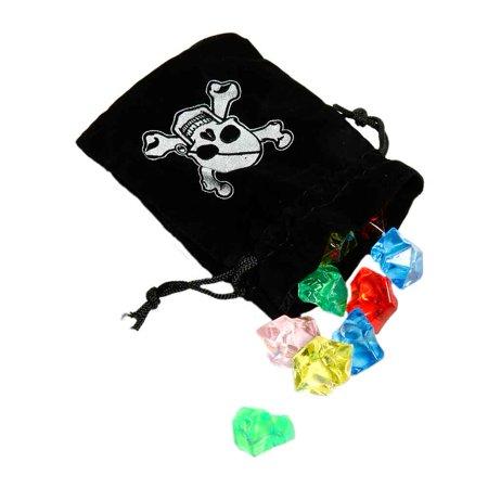 Pirate Drawstring Bag & Jewels