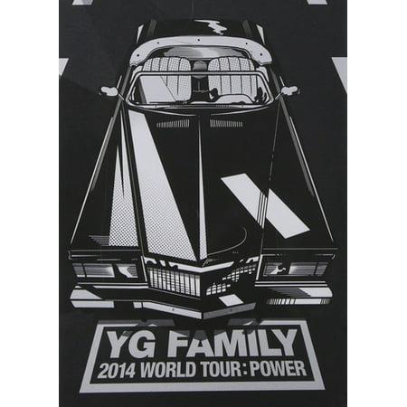 2014 Yg Family Concert in Seoul Live CD (CD) (Yg Family Concert 2011 Full Eng Sub)