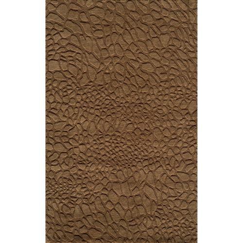 86f3a61d048cf Momeni Loft Stones Brown Hand-Loomed Wool Rug (2' x 3') - Walmart.com